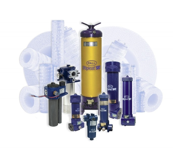 Pall's Ultipleat (R) SRT hydraulic and lube filter elements are designed to deliver superior contamination control over the service life of the filter. (Photo: Business Wire)