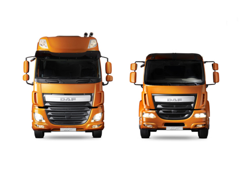 DAF's New Euro 6 CF and LF Vehicles (Photo: Business Wire)