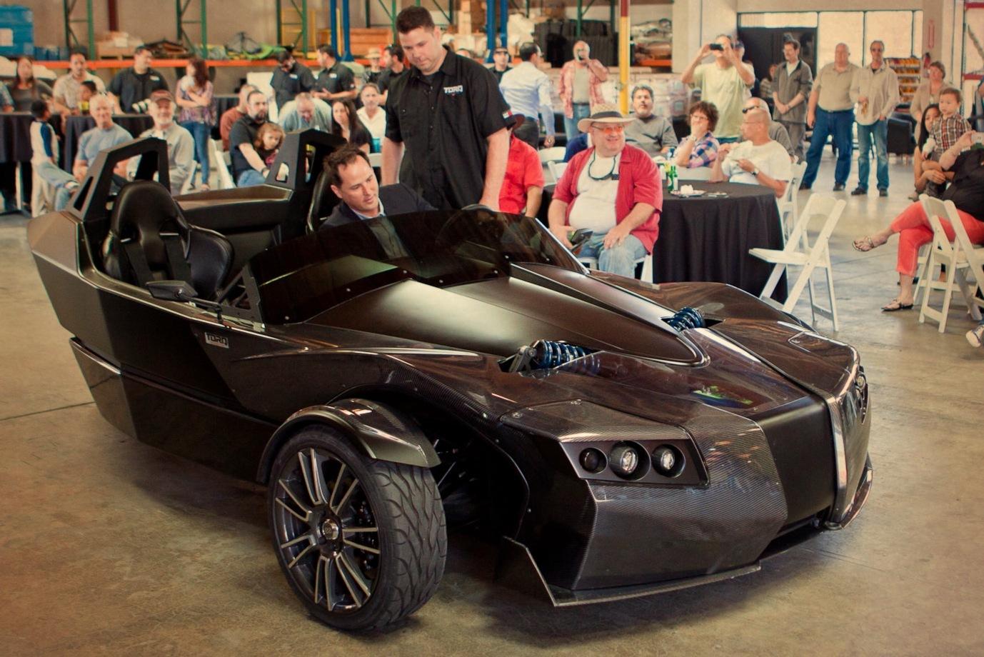 Epic delivers first production torq ev to former tesla for Epic motors san diego
