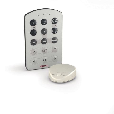 MED-EL's RONDO is the world's first single-unit processor for cochlear implants. (Photo: Business Wire)