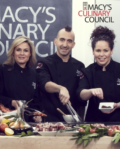 Macy's Culinary Council Chefs Cat Cora, Marc Forgione and Stephanie Izard to Judge Sizzle Showdown as part of Macy's Great American Grilling Guru Contest (Photo: Business Wire)