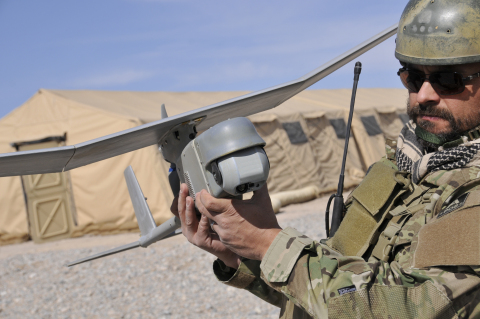 AeroVironment's Raven Gimbaled unmanned aircraft system (Photo: Business Wire)