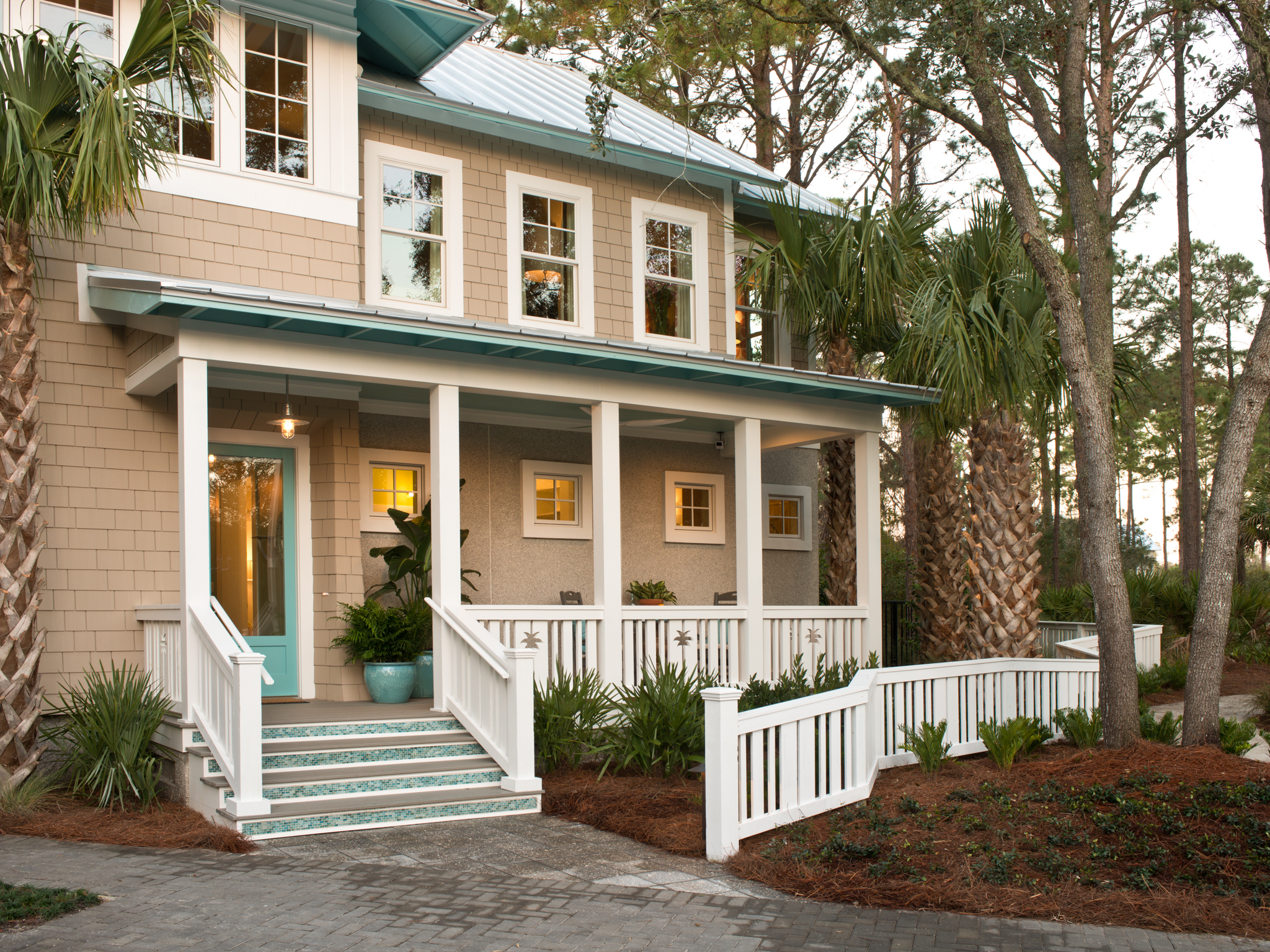The design of HGTV Smart Home 2013 is inspired by shingle-style vacation homes constructed in Atlantic, Neptune and Jacksonville Beach communities during the early 1900s. HGTV, HGTV Smart Home, and HGTV Smart Home Giveaway are trademarks of Scripps Networks, LLC. Used with permission; all rights reserved. Photo(c) 2013 Scripps Networks, LLC.