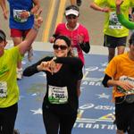 Kershaw Running the Boston Marathon (Photo: Business Wire)