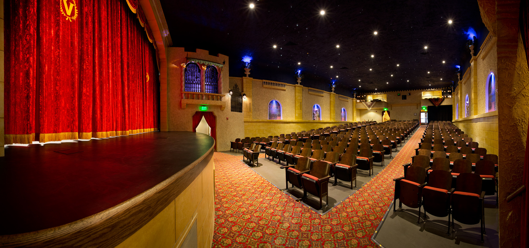 Last April, Cook Group Incorporated committed to sponsor the renovation of the Tivoli Theatre, which is owned by Owen County Preservations. This weekend, less than a year after renovations began, the Tivoli Theatre will screen its first feature films in 14 years to the community. (Photo: Business Wire)
