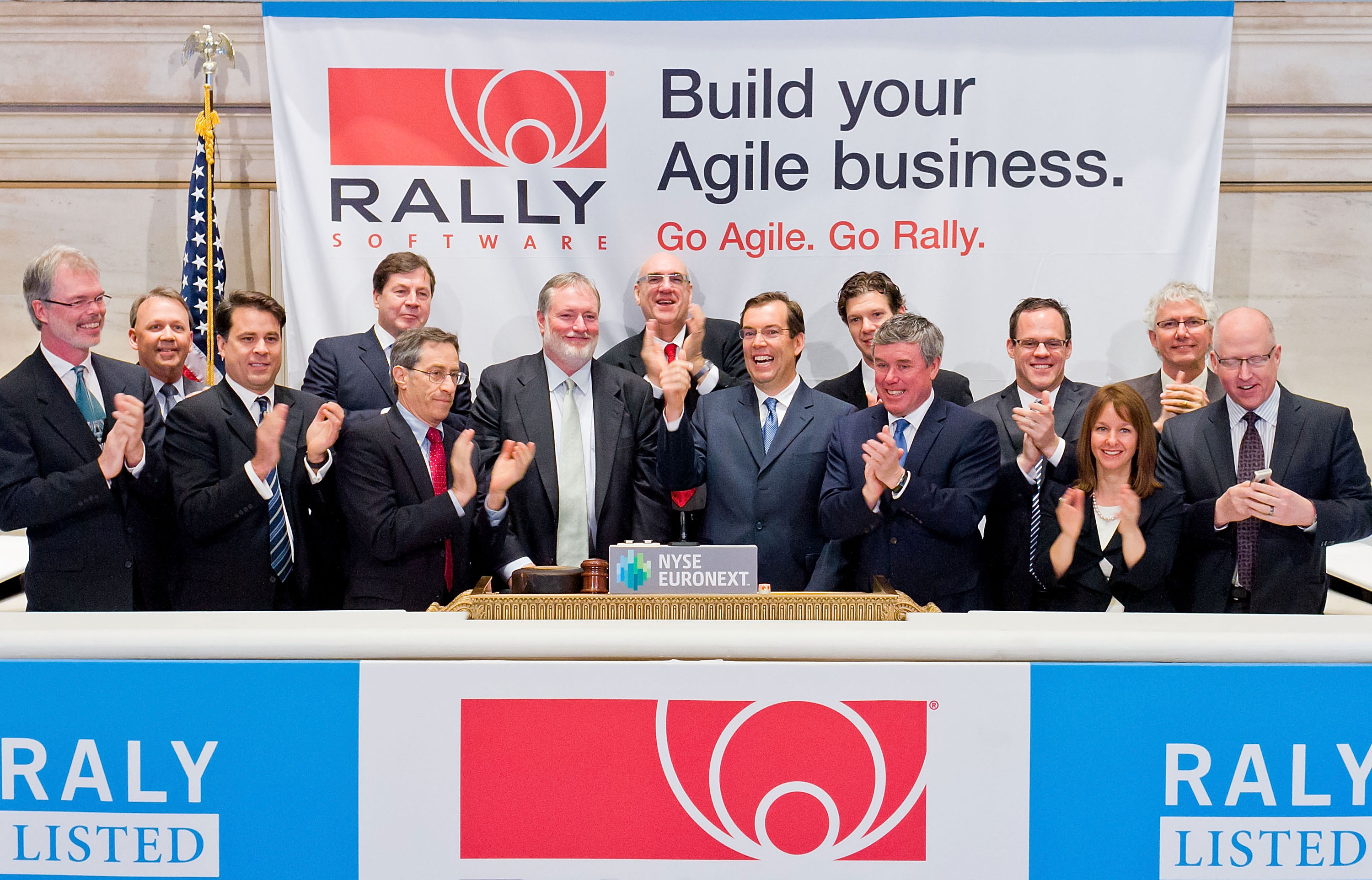 Rally Software Celebrates Initial Public Offering and First Day of ...