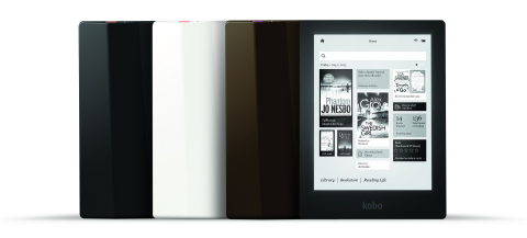 Kobo creates new high-definition eReader for the passionate booklover (Photo: Business Wire)