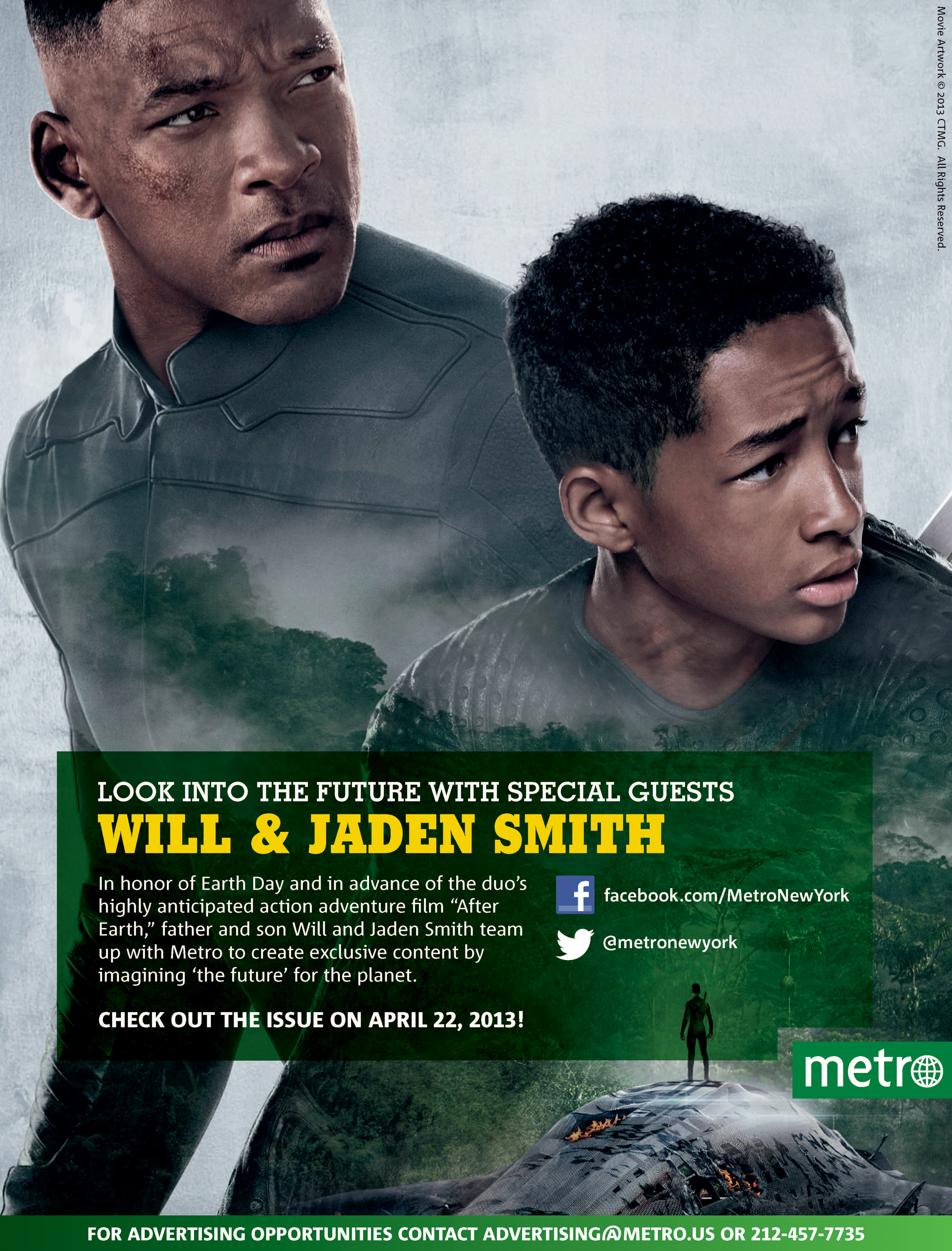 Will & Jaden Smith - Special Metro Guests on April 22, 2013!