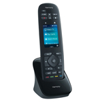 The Logitech Harmony Ultimate features Logitech's Harmony Hub and Harmony Smartphone App to enable closed-cabinet control and one-touch entertainment access to game consoles from your universal remote or smartphone. (Photo: Business Wire)
