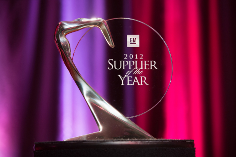 Advanced Composites won 2012 GM Supplier of the Year award (Photo: Business Wire)