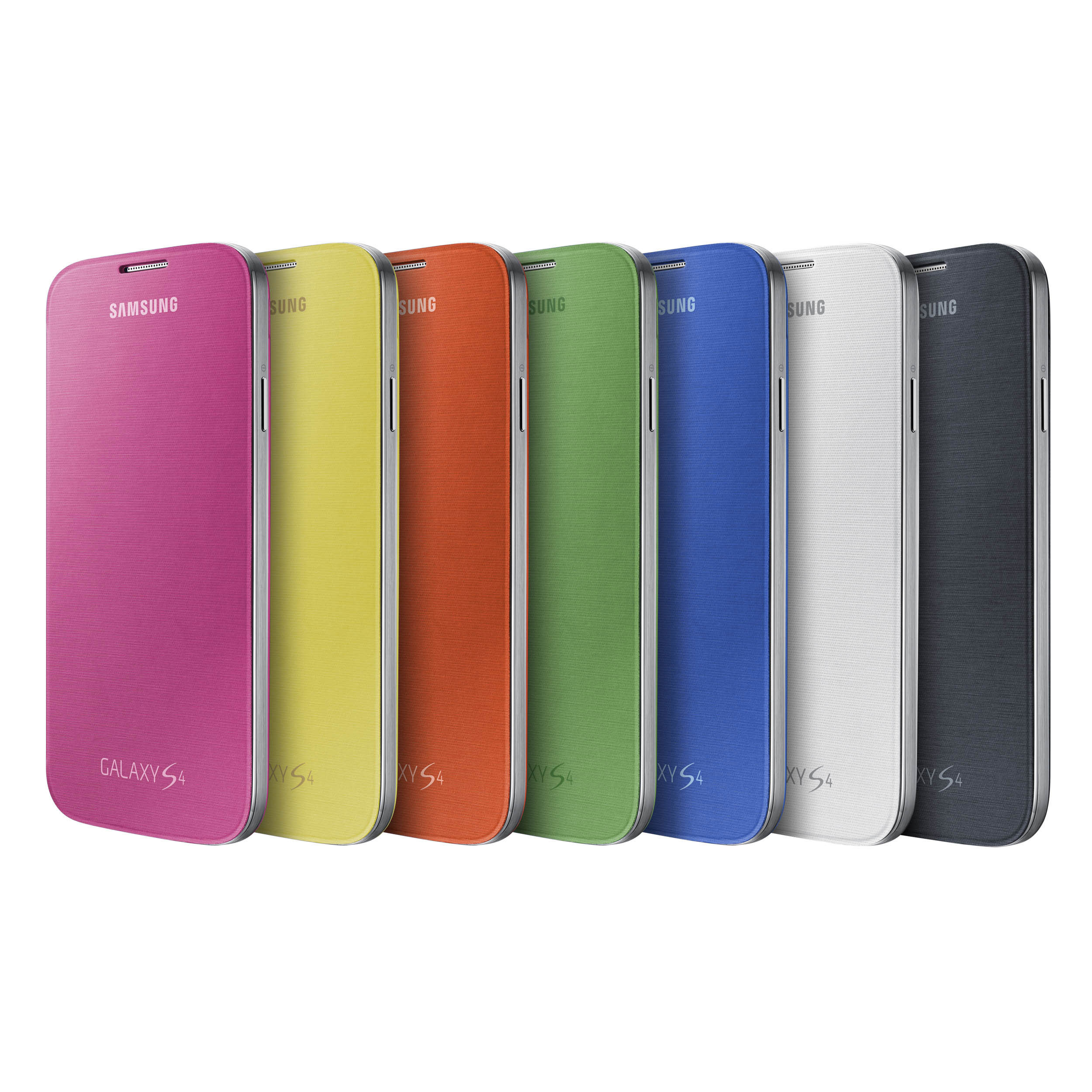 Galaxy S 4 Flip Cover Color Assortment (Photo: Business Wire)