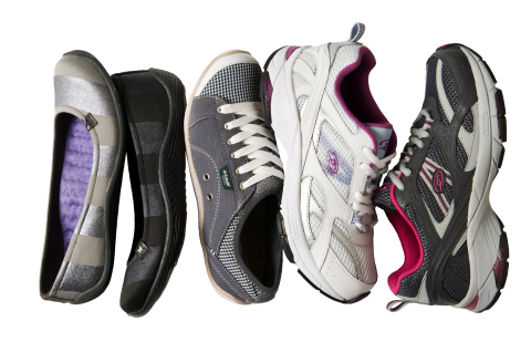 Shoe styles by the makers of Dr. Scholl's Shoes, the official shoe sponsor of March for Babies, available at Famous Footwear. (Photo: Business Wire)