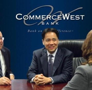 Ivo A. Tjan Chairman and CEO, CommerceWest Bank (Photo: Business Wire)