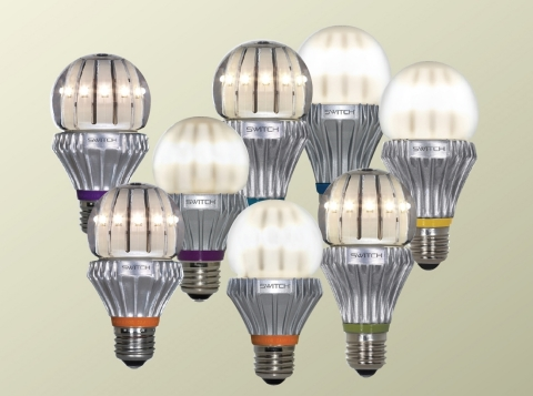 The SWITCH3-Way is the newest member of SWITCH's family of LED bulbs (Photo: Business Wire)