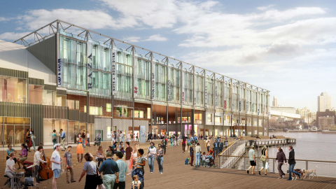 The new Pier 17 (Photo: Business Wire)