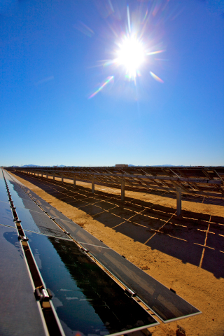 Arizona Public Service (APS) added 148 megawatts of solar energy to its generation portfolio in 2012 ...