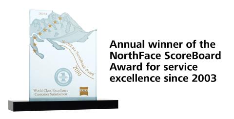 Northface Scoreboard Award (Photo: Business Wire)