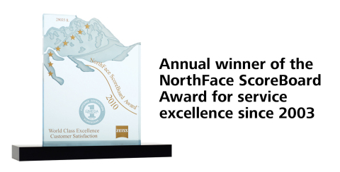 Northface Scoreboard Award (Photo: Business Wire)