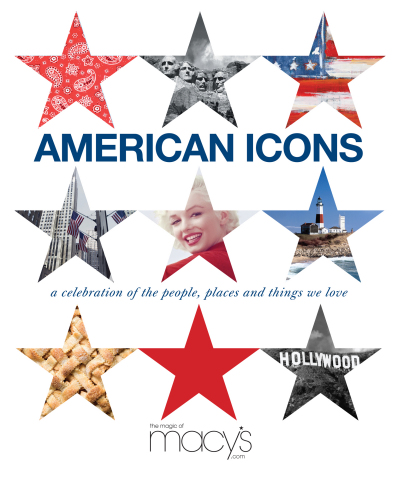 "Launching mid-May, Macy's salutes ""American Icons"" (Photo: Business Wire)"