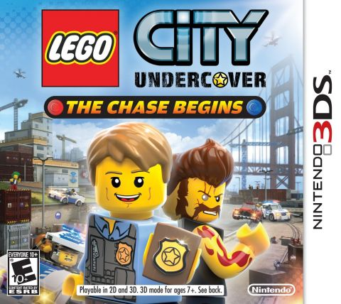 LEGO City Undercover: The Chase Begins Box Art (Photo: Business Wire)
