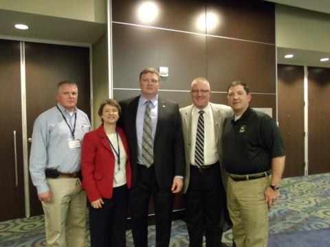 Robert Schwartz, Director of Wounded Warrior Program, Kim Bimestefer, President of Taft-Hartley & Fe ...