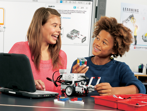 LEGO(R) MINDSTORMS(R) Education EV3 Platform Available August 1, 2013 for Classrooms (Photo: Business Wire)