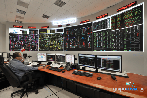 A recent installation at a power grid control center at CFE's (Comision Federal de Electricidad) ACC ...