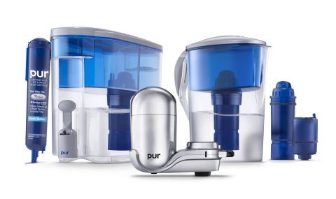 The PUR family of water filtration products (Photo: Business Wire)