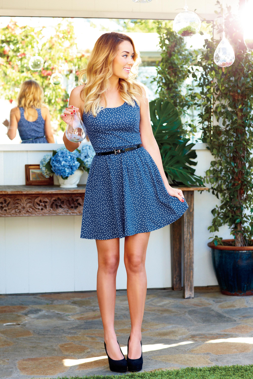 Lauren Conrad Blue Dress - Cocktail Dresses 2016