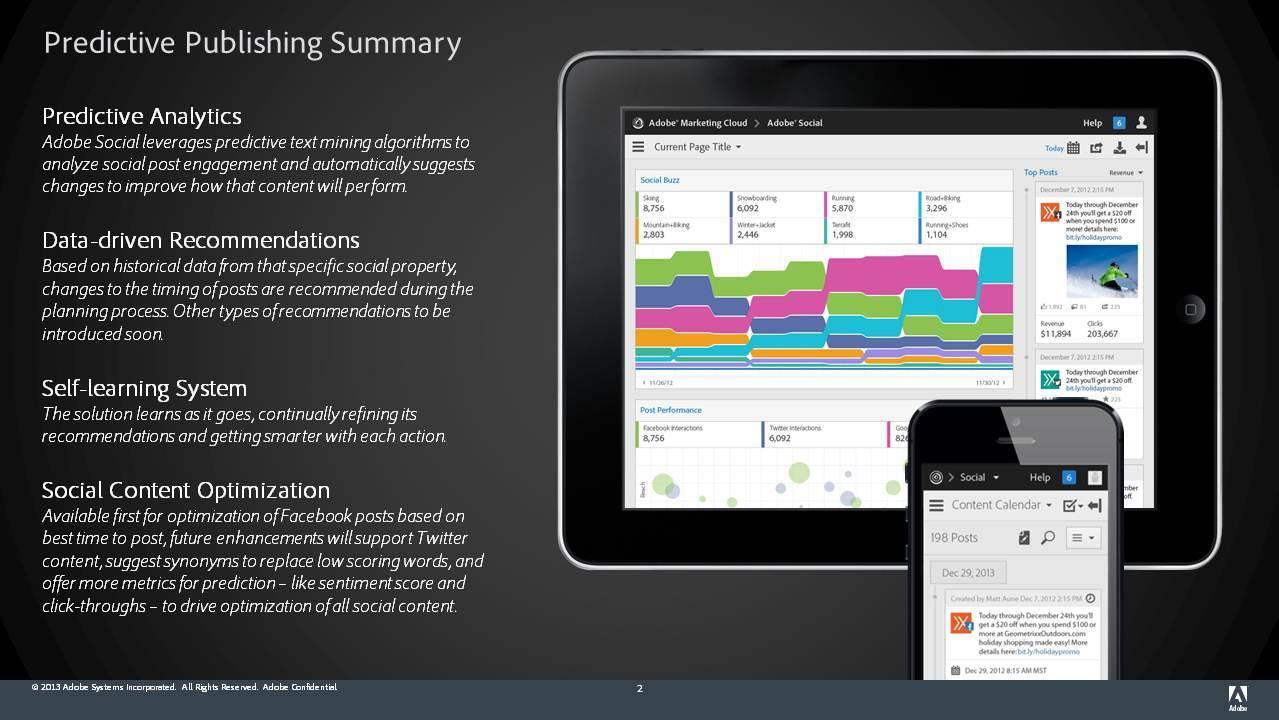 Predictive Publishing Summary (Graphic: Business Wire)