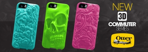 OtterBox Commuter Series 3D cases for Apple iPhone 5 now available. (Photo: OtterBox)