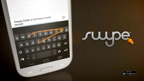 Swype is Now Available on Google Play (Graphic: Business Wire)