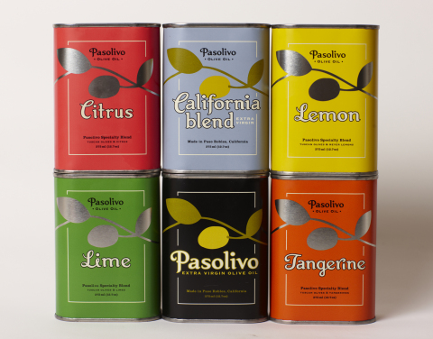 Pasolivo Olive Oil Collection (Photo: Business Wire)
