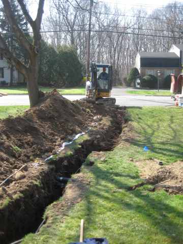 HomeServe repairs water and sewer line breaks quickly through its network of pre-screened local, lic ...