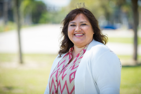 Maria Segura is a Florida mom who went from migrant farmworker to educator and is being honored in May as Dollar General's Every Day Hero. (Photo: Business Wire)