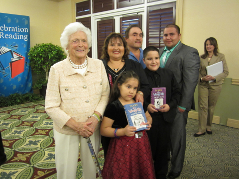 The Barbara Bush Foundation for Family Literacy and the Family Literacy Academy of Immokalee have helped Maria Segura open books and open doors. (Photo: Business Wire)