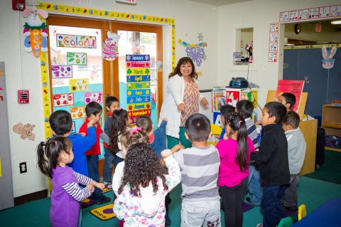 With the help of the Family Literacy Academy, Maria Segura has pursued her education and is now the Lead Preschool Instructor for the program. (Photo: Business Wire)