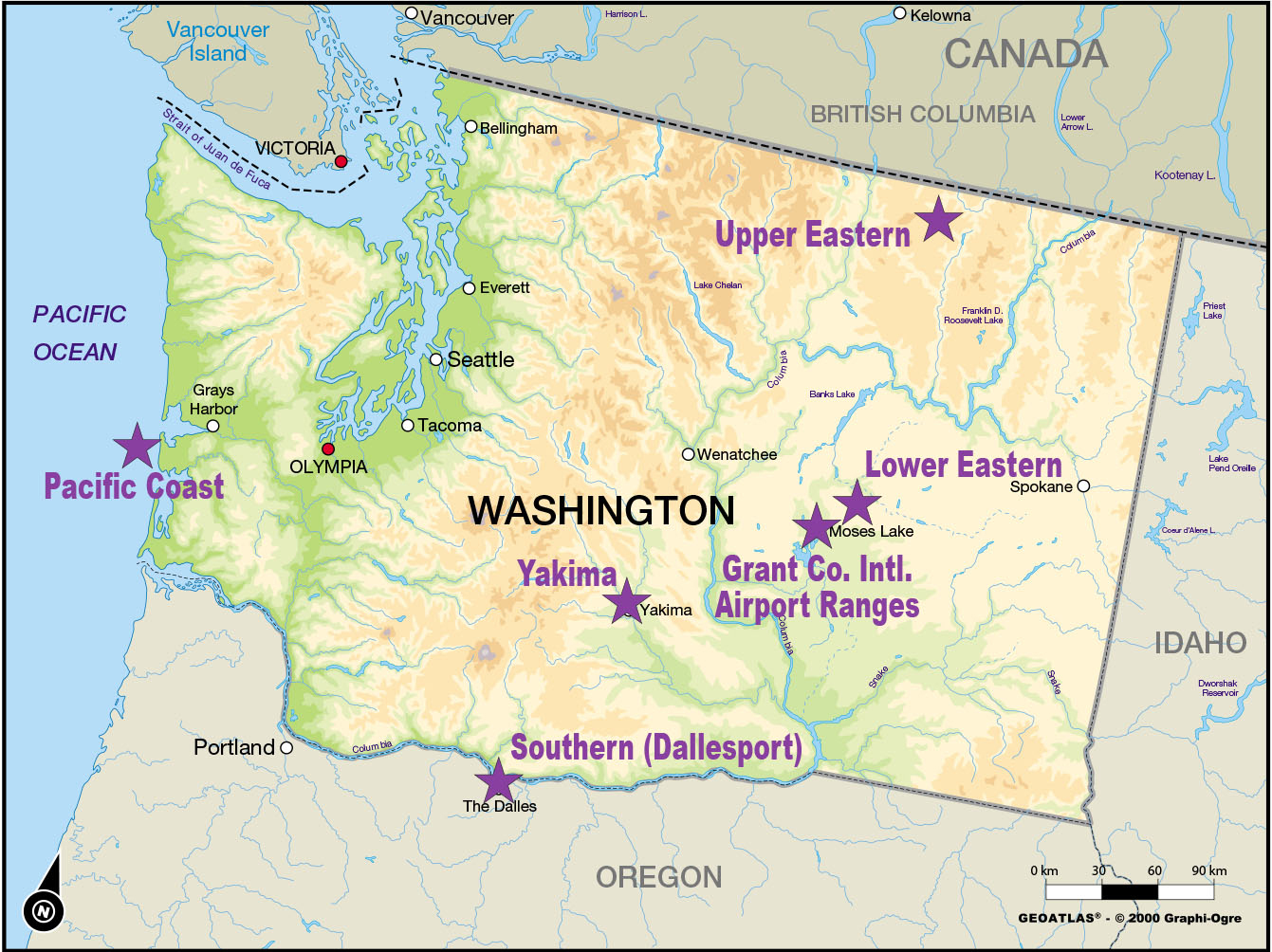 moses lake wa map Unmanned Aircraft System Proposal Takes Flight Business Wire moses lake wa map