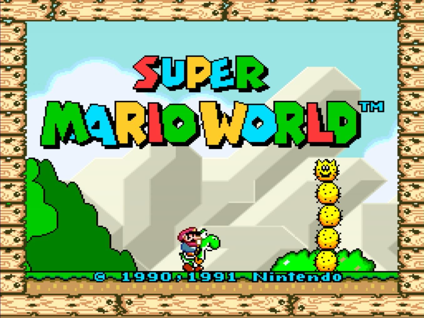 Super Mario World Screenshot (Graphic: Business Wire)