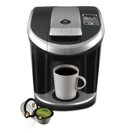 Keurig Coffee Maker Green : Green Mountain Coffee Roasters Inc. s Keurig Vue Brewing System Wins at Internationally Renowned ...