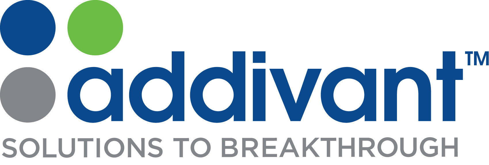 New Addivant Corporate Identity - A team of employees in R&D, engineering and sales created the name Addivant(TM) to emphasize the company's intent to deliver competitive advantages through innovative additive solutions to the specialty chemicals industry and customers around the world. A new signature line, Solutions to Breakthrough, represents the company's mission to work intimately with customers to solve their toughest challenges and deliver customized, next-generation chemical and material solutions. (Graphic: Business Wire)