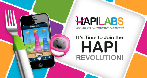 "Its time to join the HAPI Revolution! The goal of HAPILABS HAPI Revolution is to help create HAPIer and healthier people. Stated succinctly by 18th Century French Enlightenment philosopher Voltaire ""I have chosen to be happy because it's good for my health."" (Graphic: Business Wire)"