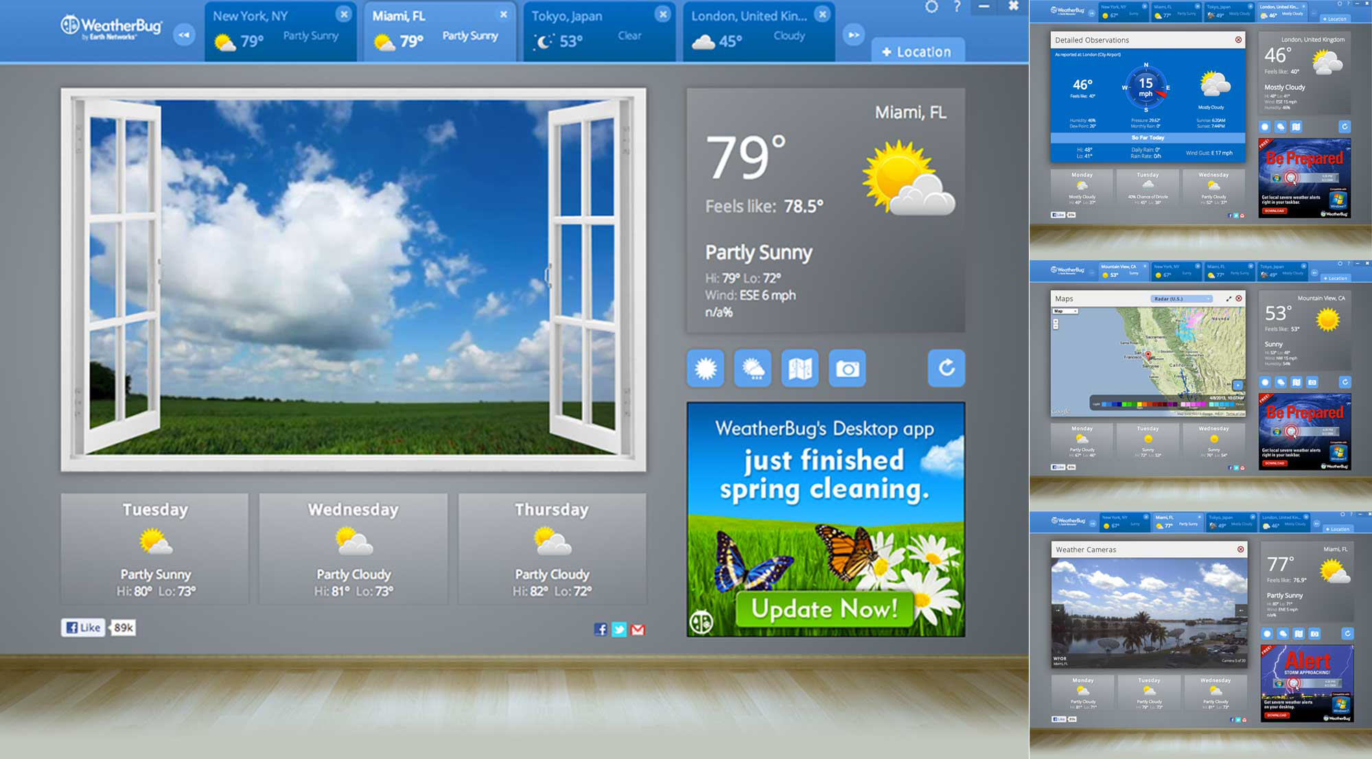 WeatherBug Becomes First Weather App to Launch on Google Chrome's