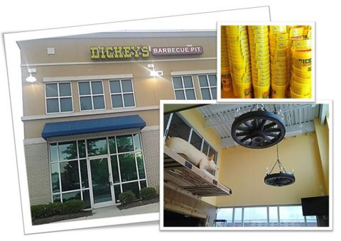 Dickey's Barbecue Pit opens second location in Raleigh, North Carolina. (Photo: Business Wire)