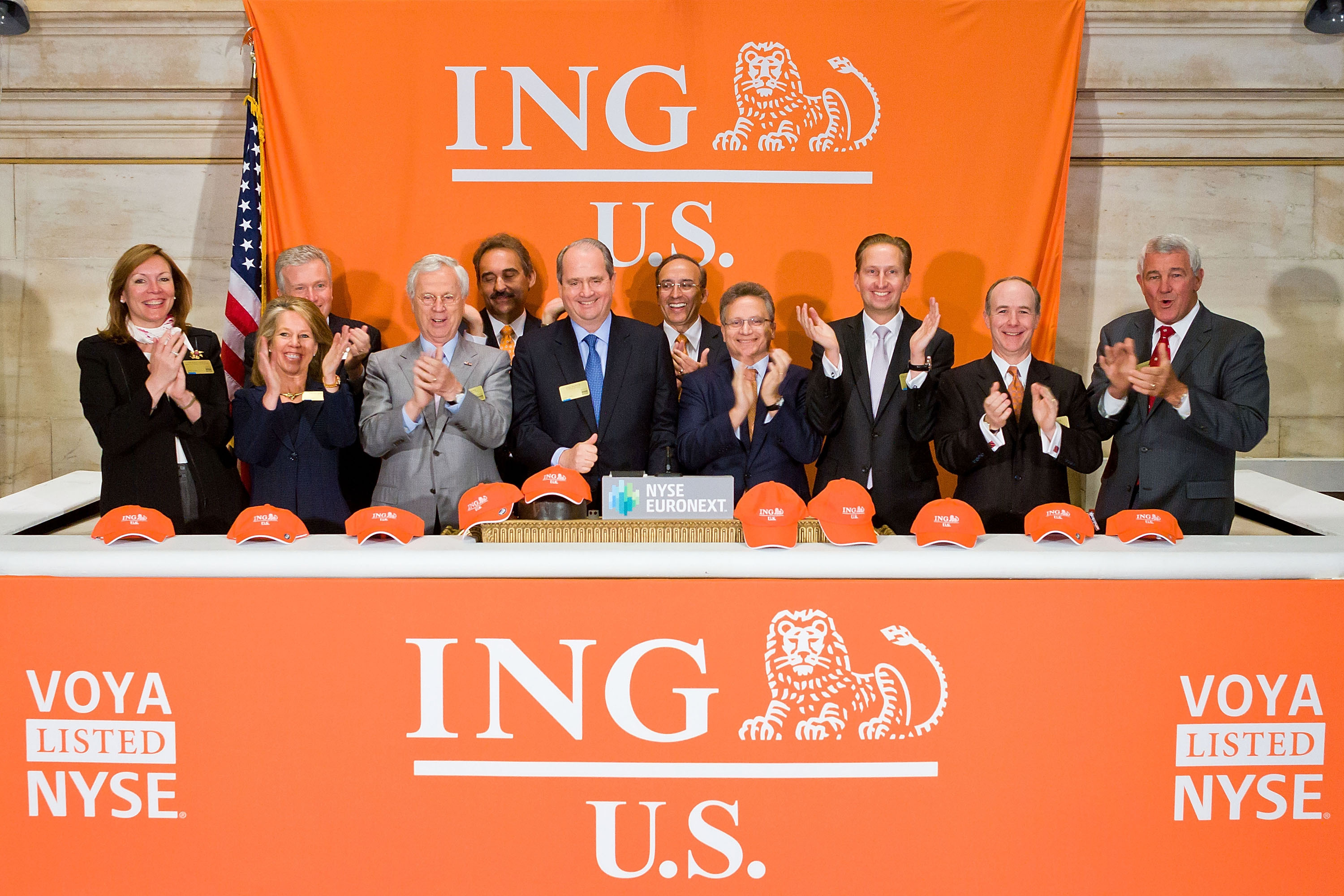 Ing Us Celebrates Its Public Debut And First Day Of Trading On The