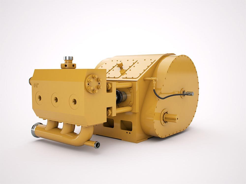 Caterpillar to Unveil Well Stimulation Pumps at OTC 2013