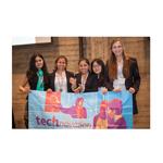 Technovation Challenge winners - NY team (Photo: Business Wire)