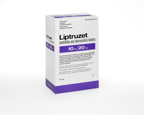 Liptruzet packaging (Photo: Business Wire)