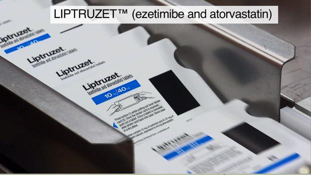 LIPTRUZET(TM) (ezetimibe and atorvastatin)