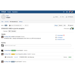 Fork a repository into any other project in Stash for which you have admin access, or create personal forks and give other developers access. Stash lets you easily merge changes between forks through pull requests. (Photo: Business Wire)